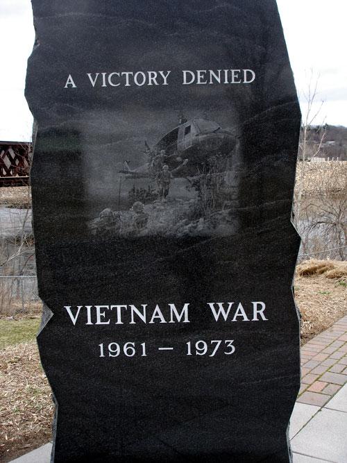 Vietnam War Memorial Washington Vietnam War Memorial Back