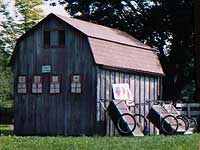 Shed and carts