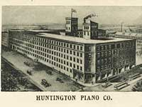 View of 1800s Huntington Piano Factory