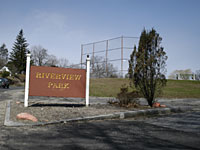 Riverview Park Entrance sign